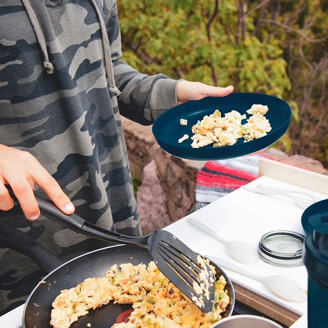 Prepare your own food on your campervan road trip to cut costs.